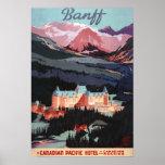 Descripción del poster de Banff Springs Hotel