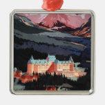 Descripción del poster de Banff Springs Hotel Adornos
