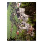 Descripción el castillo de Neuschwanstein. Autor d Tarjetas Postales