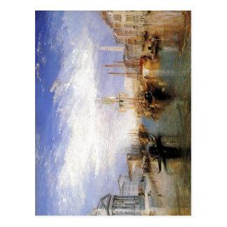 Descripción el Gran Canal - Venecia de J.M.W.T Postal