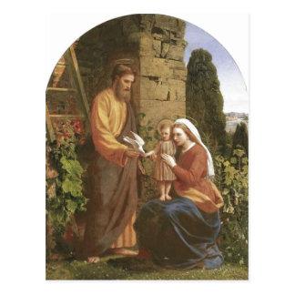 Descripción James Collinson familia santa Origina Tarjeta Postal