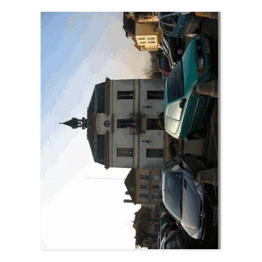 Descripción Mairie d'Auvers-sur-Oise, d'aujour del Tarjetas Postales