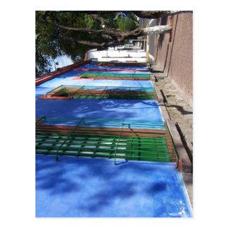 ¿Descripción sumaria Espa? ol: azul de Frida Ka de Postales