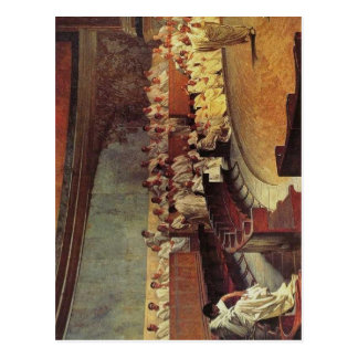 Description Cicero Denounces Catiline: Fresco by C Postcard