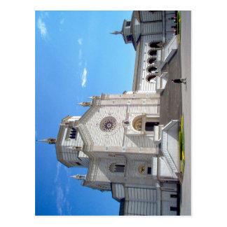 Description Cimitero monumentale di Milano. Rilasc Postcard