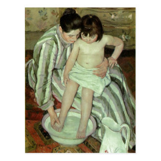 Description en:Mary Cassatt (18441926), The Bath O Postcard