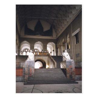 Description: Haupstiege, M?nchen . Main hall in Lu Postcard