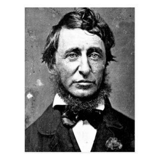 Description Henry David Thoreau (1817-1862) in Jun Postcard