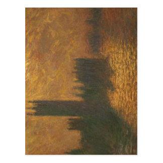 Description Le Parlement de Londres de Monet au Pa Postcard