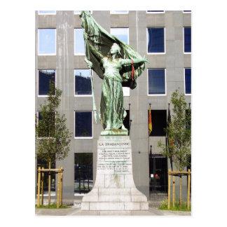 Description: Place Surlet de Chokier (Braban?onne) Postcard