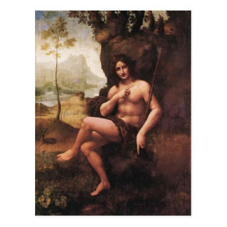 Description Polski: Obraz szkoy Leonarda da Vinci  Postcard
