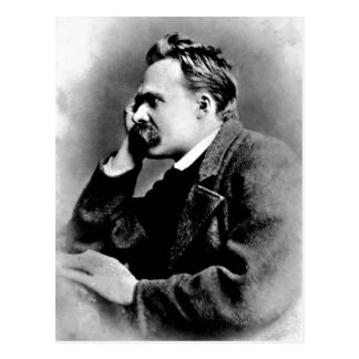Description Portrait of Friedrich Nietzsche, 1882; Postcard