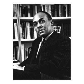 Description Ralph Ellison , noted author and profe Postcard