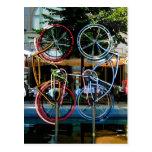 Description Robert Rauschenberg Riding Bikes , Obj Post Cards