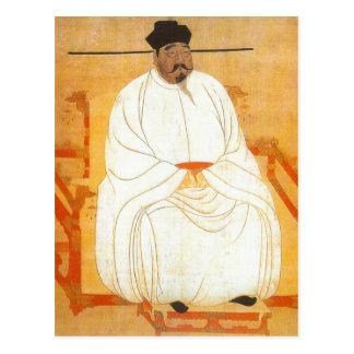 Description Song Taizu, the founder of the Song dy Postcard