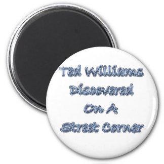 Descubierto en una esquina de calle Ted Williams Imán Redondo 5 Cm