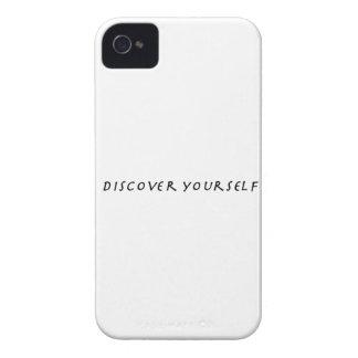 Descubra a su uno mismo iPhone 4 Case-Mate cárcasas