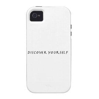 Descubra a su uno mismo Case-Mate iPhone 4 fundas