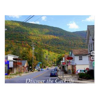 Descubra el Catskills 4 Tarjeta Postal