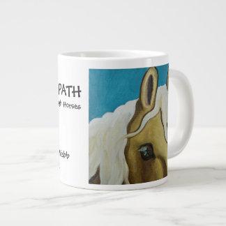 Descubra su taza de café enorme de la trayectoria tazas extra grande