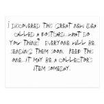 Descubrí esta gran nueva idea llamada un postc… tarjetas postales
