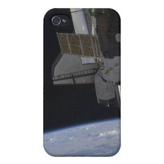 Descubrimiento 10 del transbordador espacial iPhone 4 carcasa