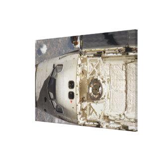 Descubrimiento 12 del transbordador espacial impresión en lona