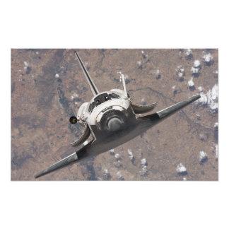 Descubrimiento 7 del transbordador espacial impresion fotografica