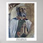 Descubrimiento de la cruz santa de Piero della Fra Posters