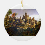 Descubrimiento del Mississippi de Guillermo H. Pow Ornamente De Reyes