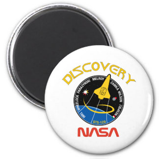 Descubrimiento del STS 120 Imán Redondo 5 Cm