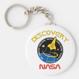 Descubrimiento del STS 120 Llavero Redondo Tipo Pin