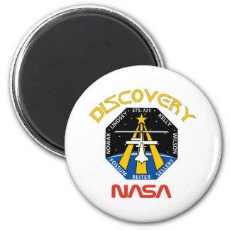 Descubrimiento del STS 121 Imán Redondo 5 Cm