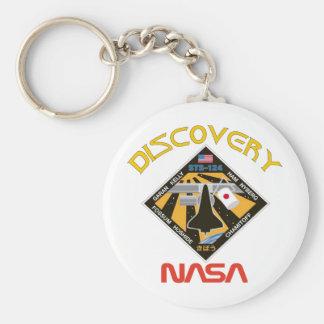 Descubrimiento del STS 124 Llavero Redondo Tipo Pin