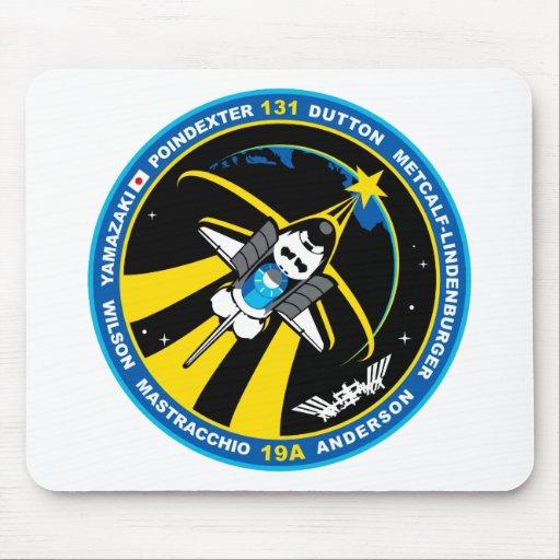 Descubrimiento del STS 131 Alfombrilla De Ratón