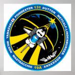 Descubrimiento del STS 131 Posters