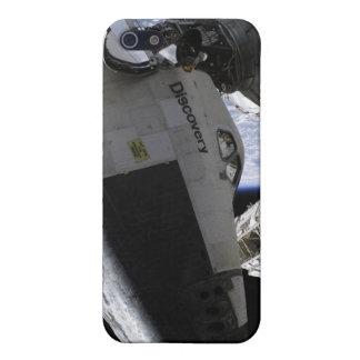 Descubrimiento del transbordador espacial atracado iPhone 5 carcasa