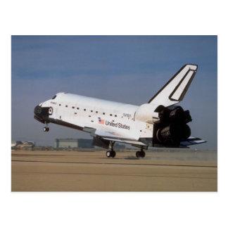 Descubrimiento del transbordador espacial desiert postal