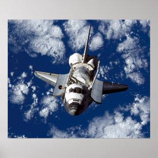 Descubrimiento del transbordador espacial posters