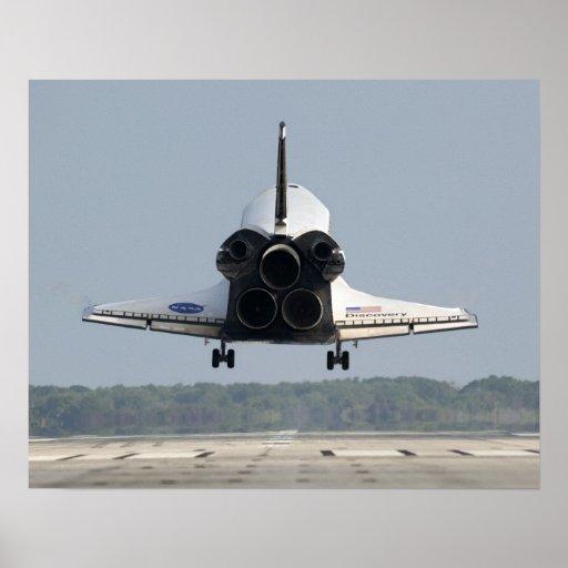 Descubrimiento del transbordador espacial impresiones