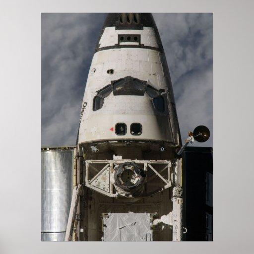 Descubrimiento del transbordador espacial (STS-119 Poster
