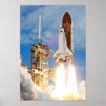 Descubrimiento del transbordador espacial (STS-120 Posters