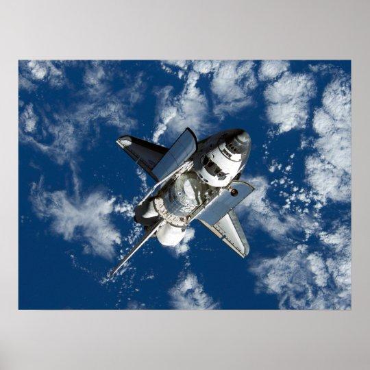 Descubrimiento del transbordador espacial (STS-120 Póster