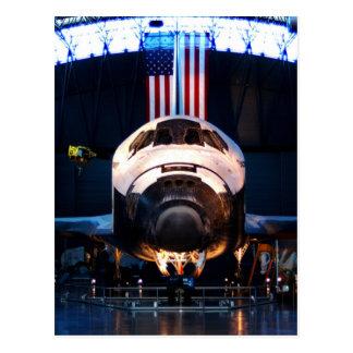 Descubrimiento del transbordador espacial tarjetas postales