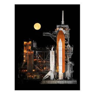 Descubrimiento del transbordador espacial tarjeta postal