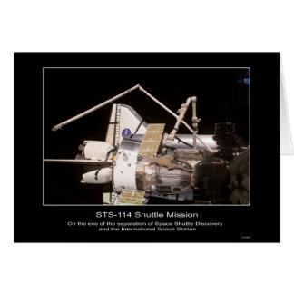 Descubrimiento del transbordador espacial y el Spa Tarjeton
