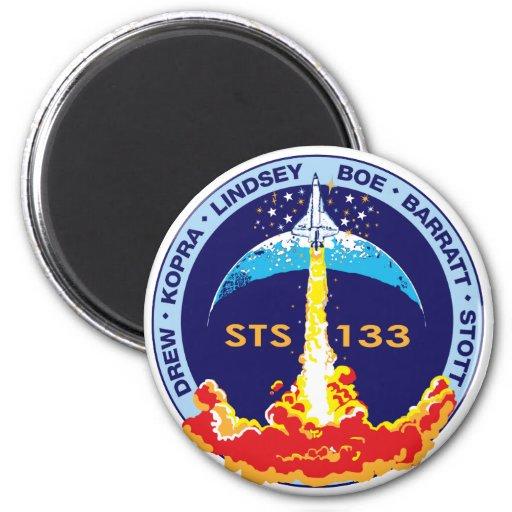 Descubrimiento STS-133 Iman Para Frigorífico
