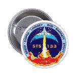 Descubrimiento STS-133 Pins