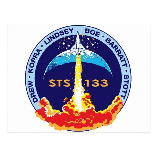 Descubrimiento STS-133 Postales