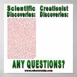 Descubrimientos científicos poster